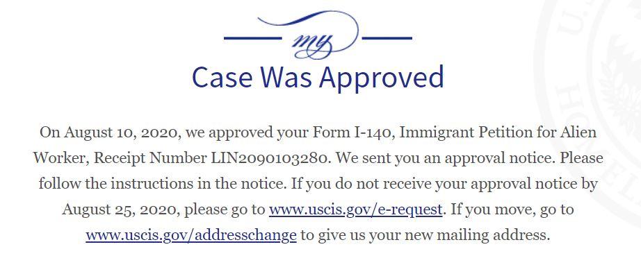 EB2-NIW-Approval